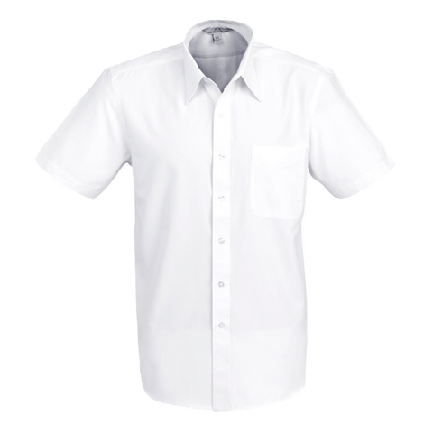 Mens Ambassador Shirt, Style: Short Sleeve, Colour: White