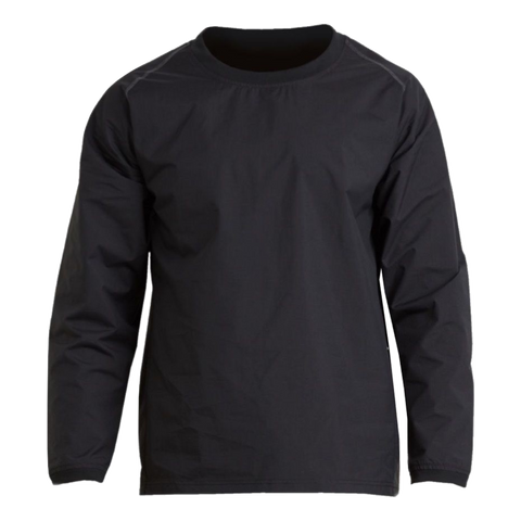 Image of Aurora Adults Warmup Training Top, Colours: Black