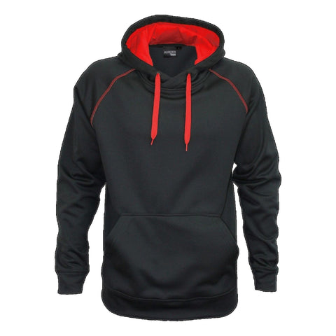 Aurora Adults XTH Performance Hoodie , Colour: Black / Red