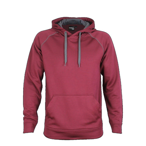 Aurora Adults XTH Performance Hoodie , Colour: Maroon