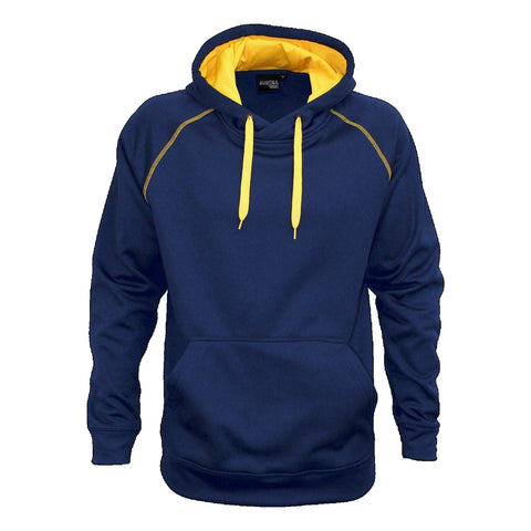 Aurora Adults XTH Performance Hoodie , Colour: Navy / Gold