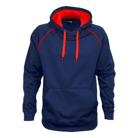 Aurora Adults XTH Performance Hoodie , Colour: Navy / Red