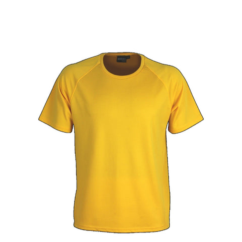 Aurora Kids Performance Tee, Colour: Gold