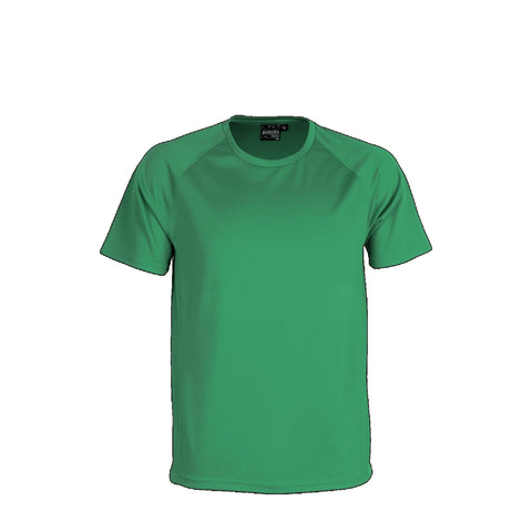 Aurora Kids Performance Tee, Colour: Kelly Green