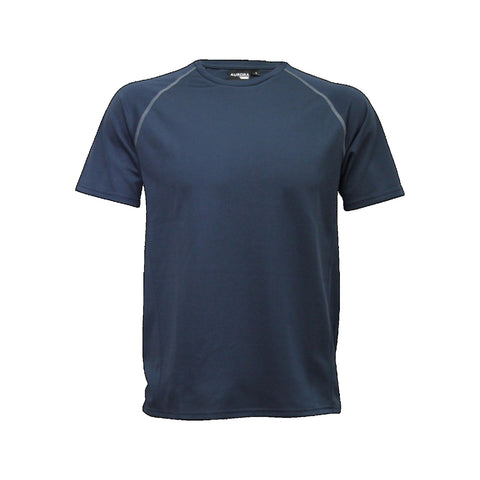 Aurora Kids Performance Tee, Colour: Navy