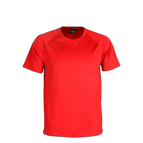 Aurora Kids Performance Tee, Colour: Red