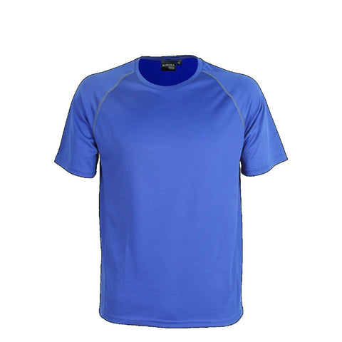 Aurora Kids Performance Tee, Colour: Royal