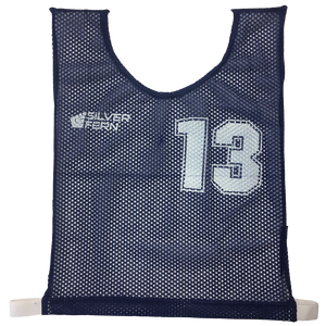 Basketball Numbered Bibs Set, Size: XXL, Colour: Blue