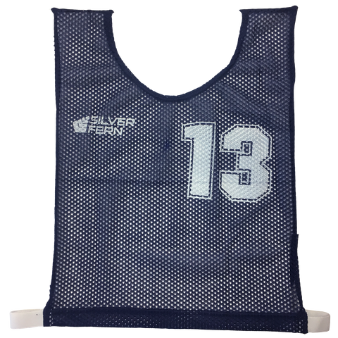 Basketball Numbered Bibs Set - Size XXL - Colour Blue
