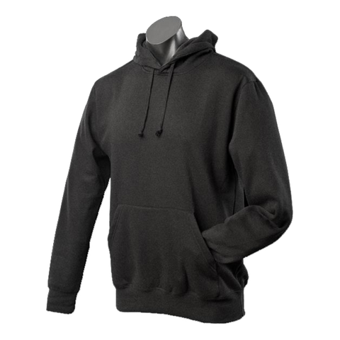 Image of Mens Botany Hoodie - Colour Black
