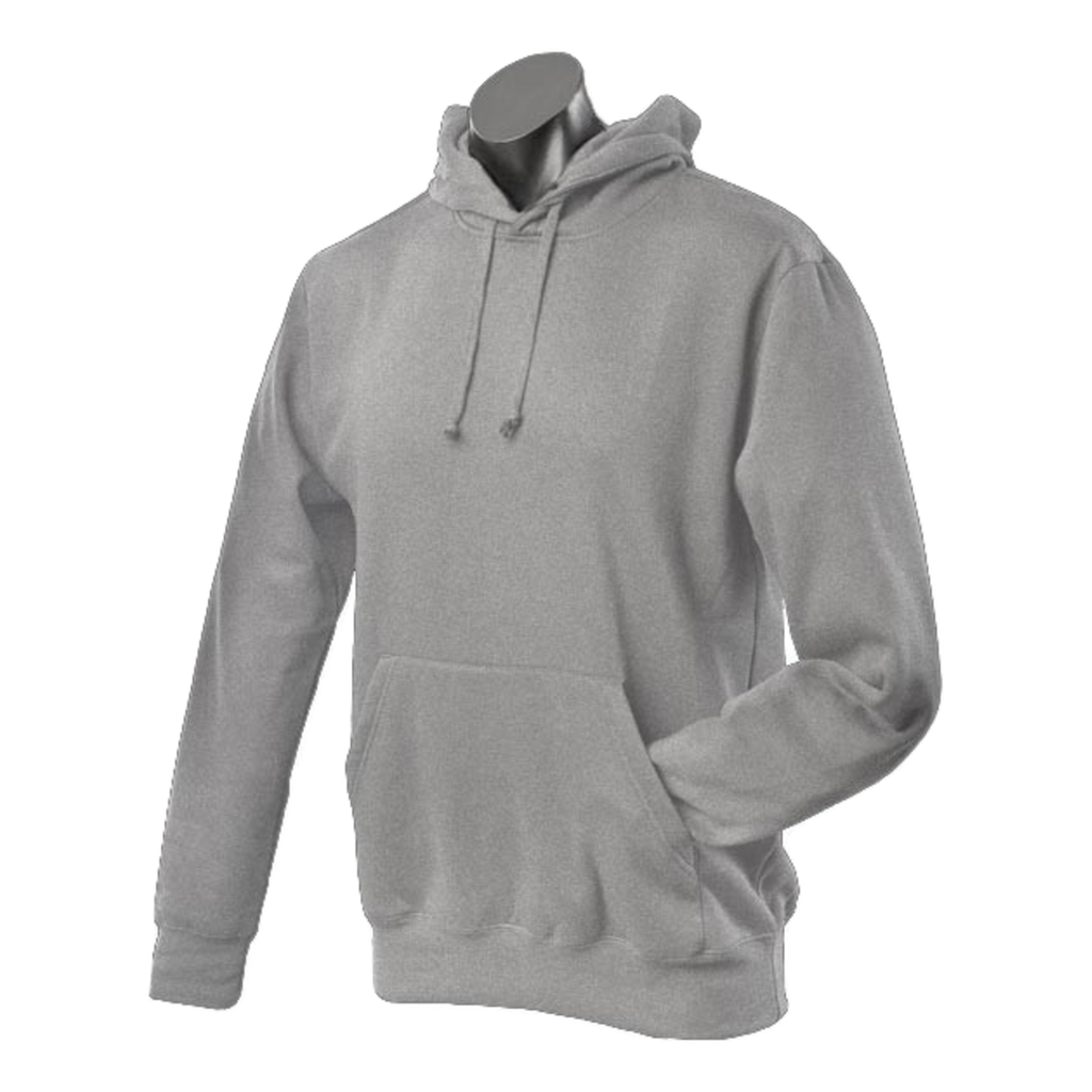 Mens Botany Hoodie, Colour: Grey Marle