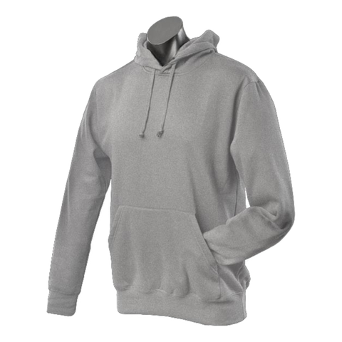 Image of Mens Botany Hoodie - Colour Grey Marle