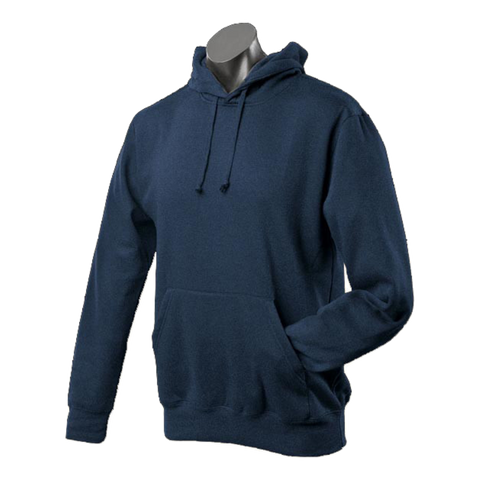 Mens Botany Hoodie, Colour: Navy