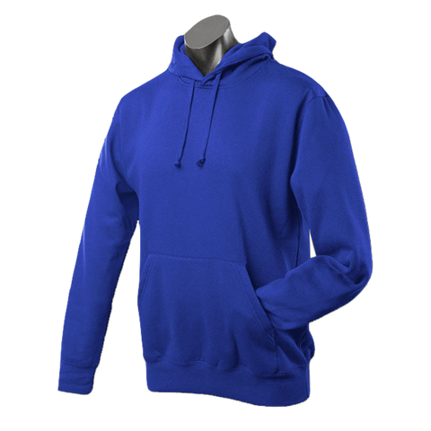 Image of Mens Botany Hoodie - Colour Royal