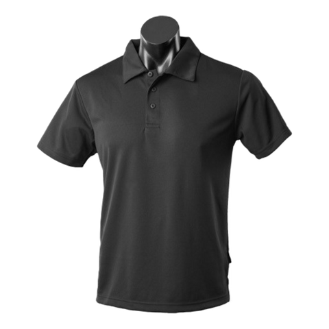 Kids Botany Polo - Colour Black