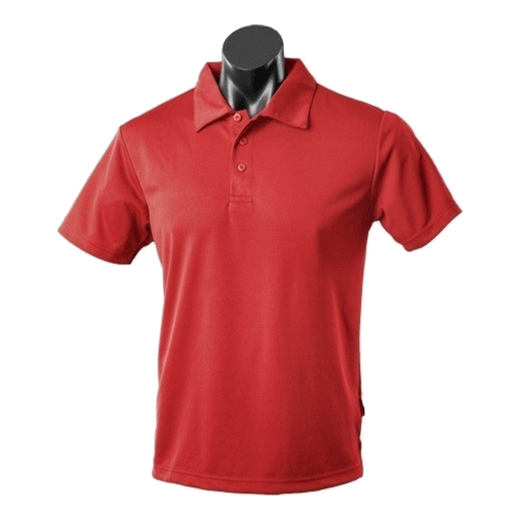 Kids Botany Polo, Colour: Red