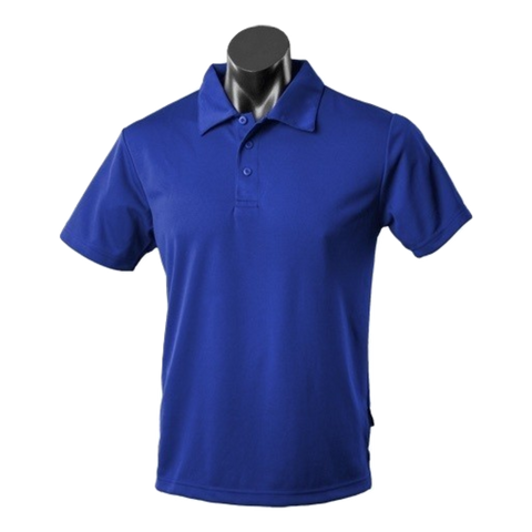 Kids Botany Polo - Colour Royal