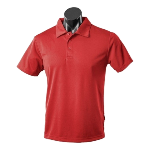 Mens Botany Polo - Colour Red