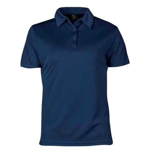 Womens Botany Polo - Colour Navy