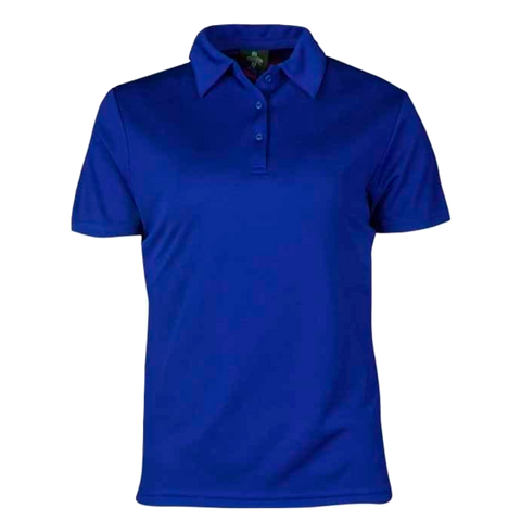 Womens Botany Polo - Colour Royal