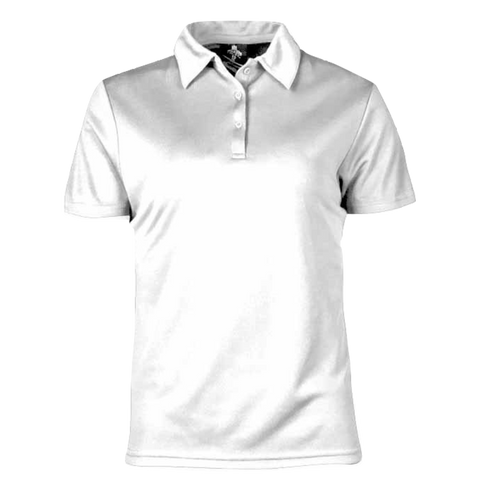 Womens Botany Polo - Colour White