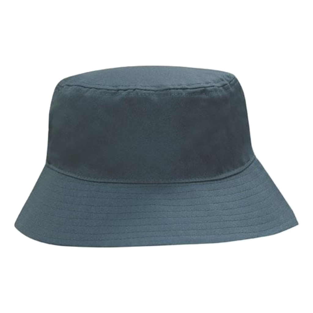 Breathable Poly Twill Bucket Hat, Size: L / XL, Colour: Bottle