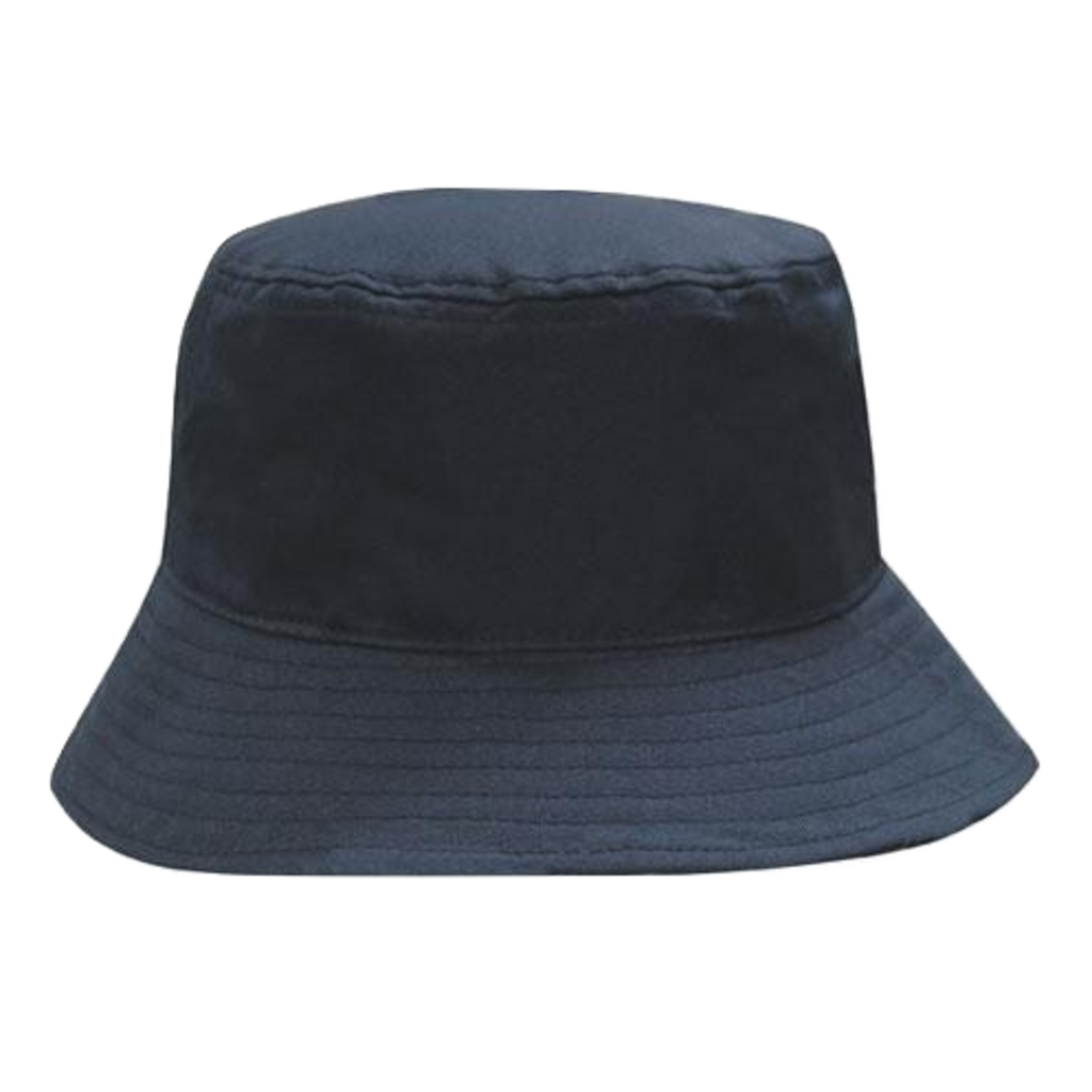 Breathable Poly Twill Bucket Hat - Size L / XL - Colour Navy