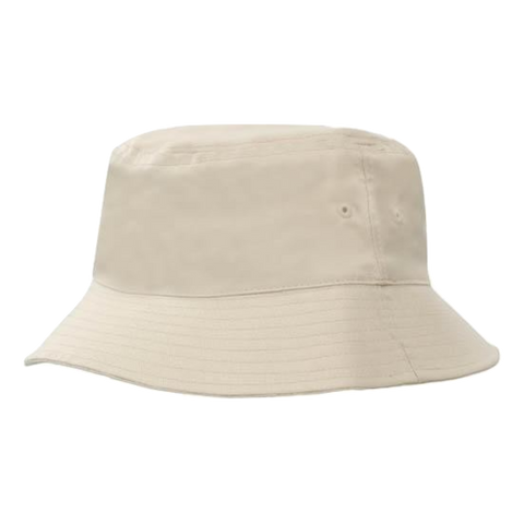 Breathable Poly Twill Bucket Hat - Size L / XL - Colour Stone