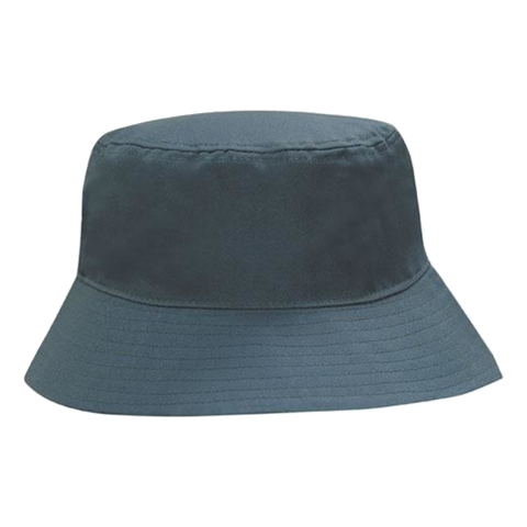 Breathable Poly Twill Bucket Hat, Size: M, Colour: Bottle