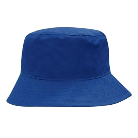 Breathable Poly Twill Bucket Hat, Size: M, Colour: Royal