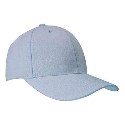 Brushed Heavy Cotton Cap, Colours: Powder Blue