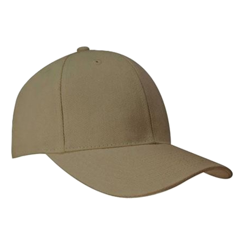 Image of Brushed Heavy Cotton Cap, Colours: Sand