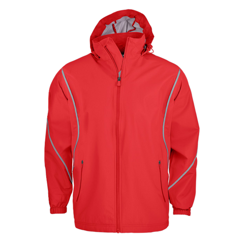 Image of Mens Buffalo Jacket, Colour: Red