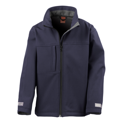 Kids Classic Softshell Jacket - Colour Navy