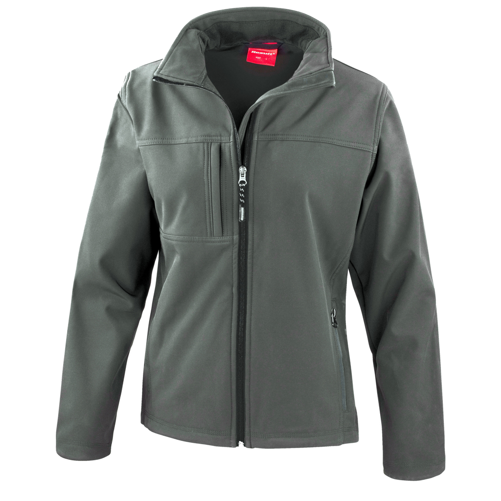 Womens Classic Softshell Jacket - Colour Grey