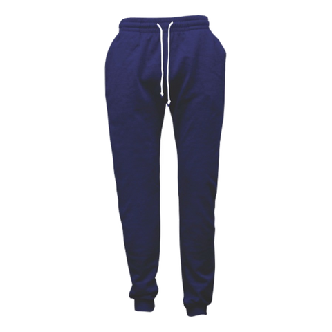 Cloke Campus Sweatpants - Colour Navy