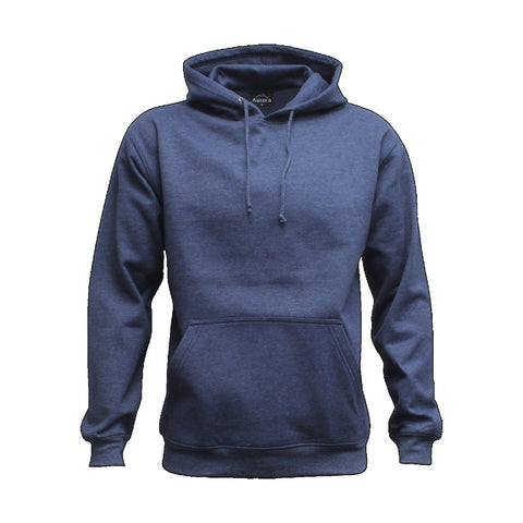 Image of Cloke Adults Origin Hoodie , Colour: Denim Marle