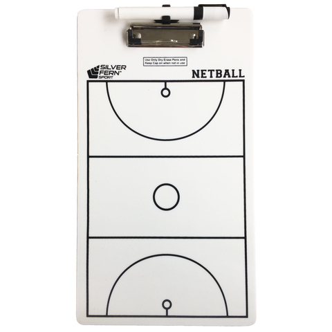 Image of Coaching Clipboard - Netball
