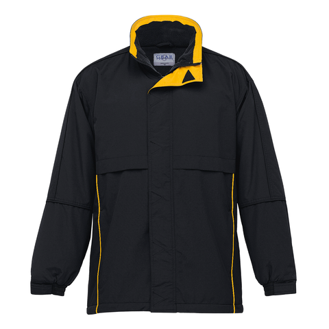 Image of Adults Contrast Basecamp Anorak - Colours Black / Gold