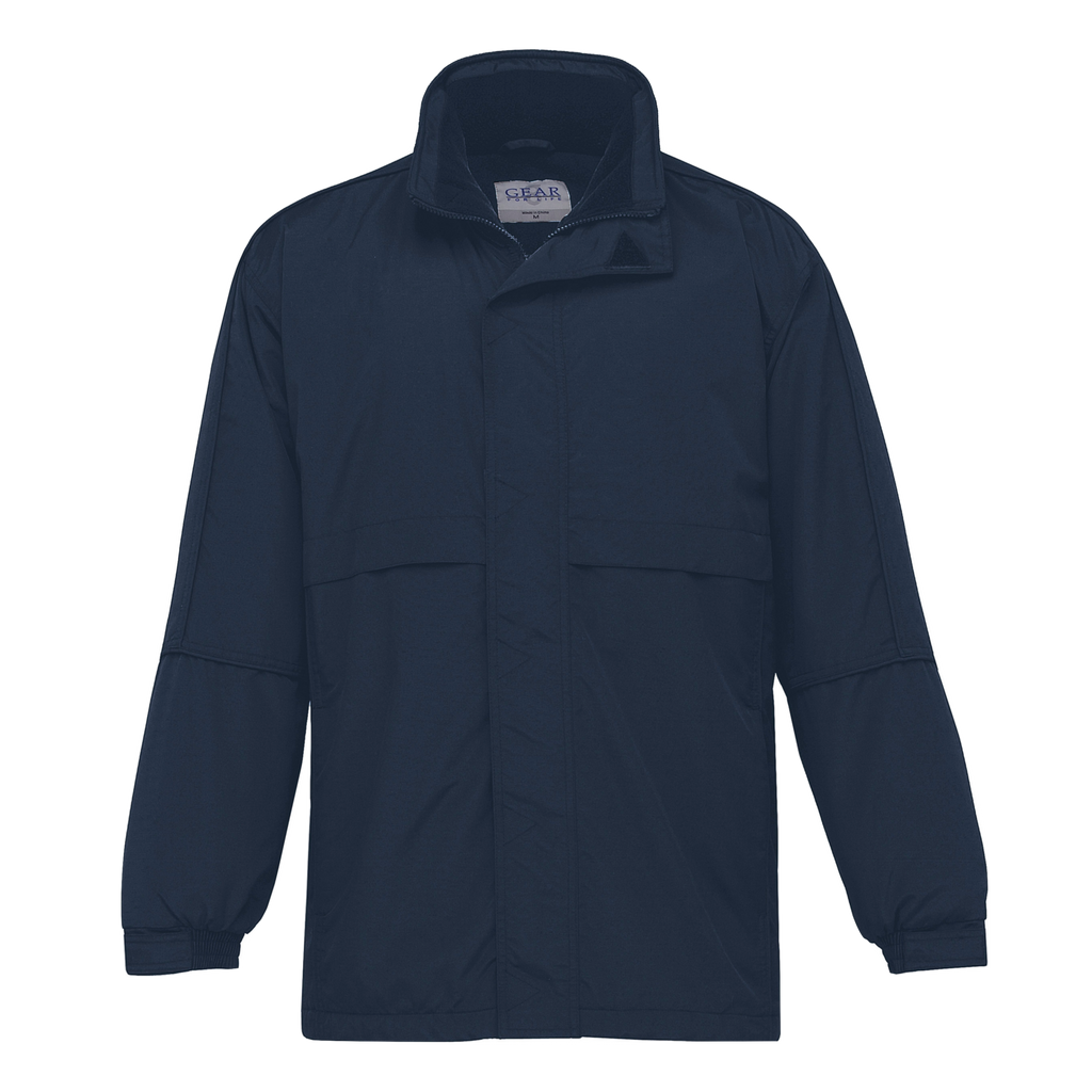 Adults Contrast Basecamp Anorak - Colours Navy