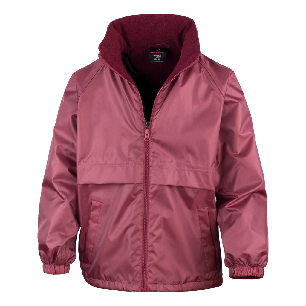 Adults Core DRI-Warm and Lite Jacket, Colour: Burgundy