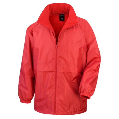 Kids Core DRI-Warm and Lite Jacket - Colour Red