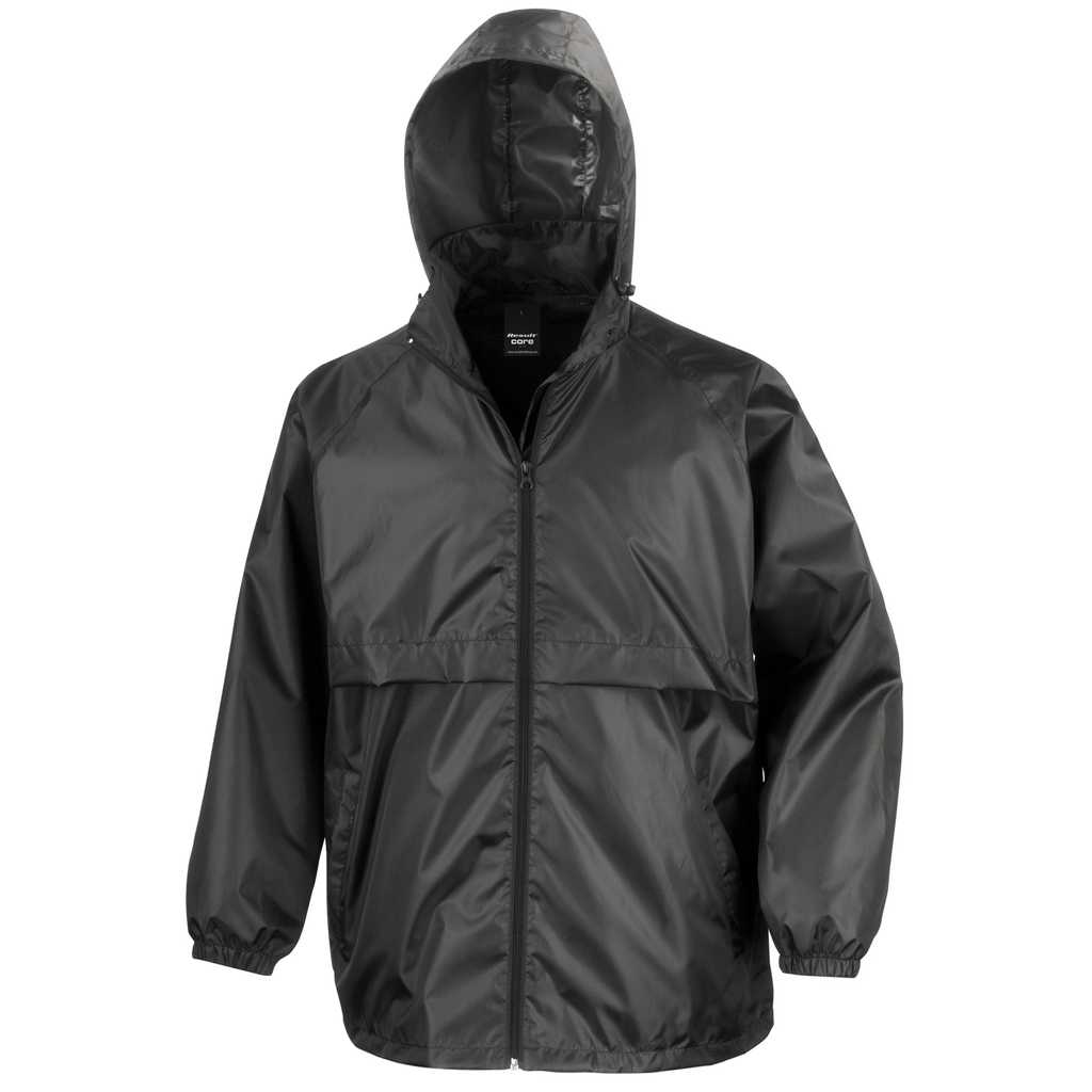 Adults Core Lightweight Jacket, Colour: Black