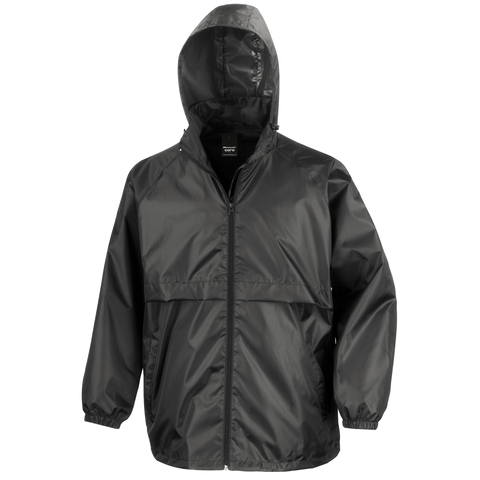 Image of Adults Core Lightweight Jacket - Colour Black