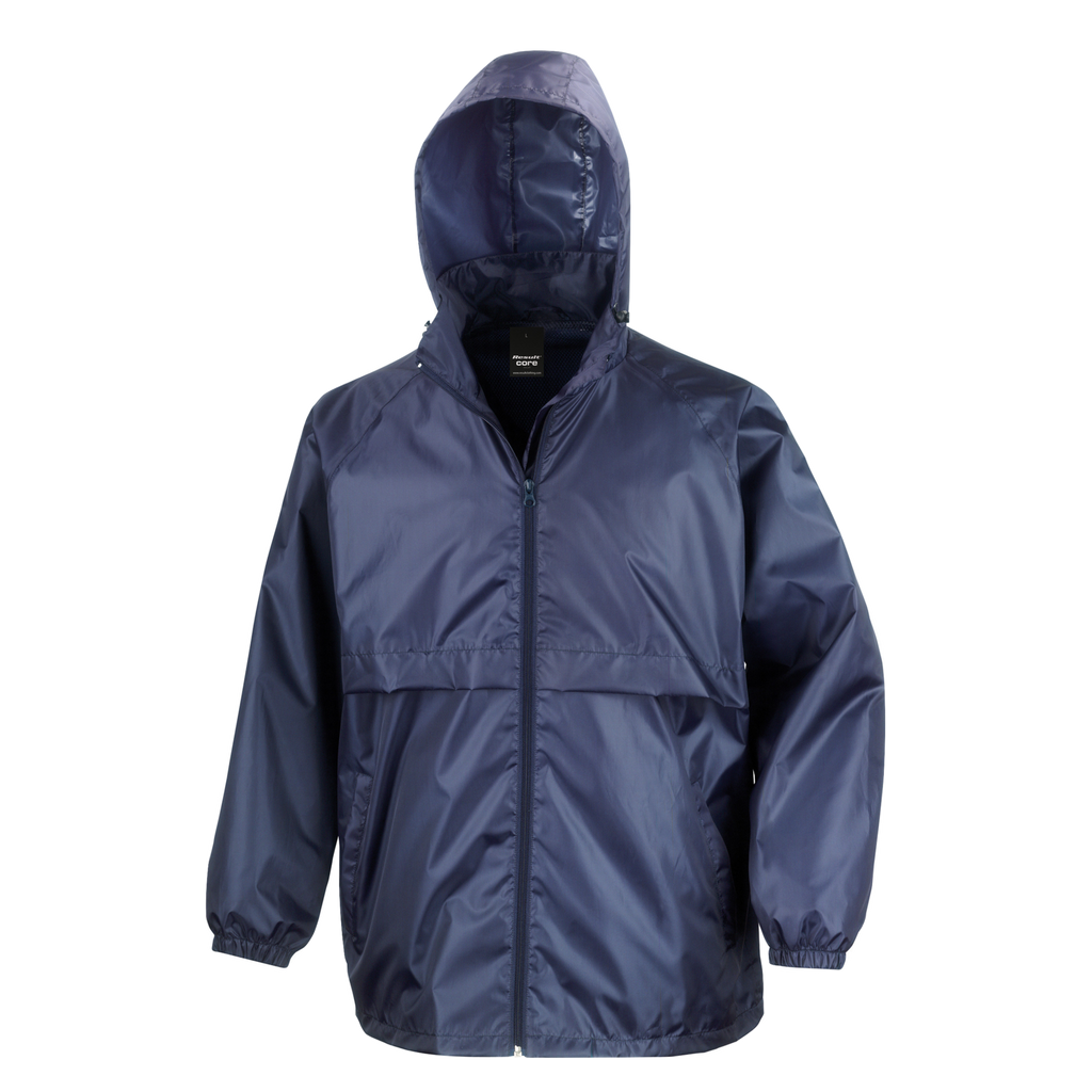 Adults Core Lightweight Jacket, Colour: Navy