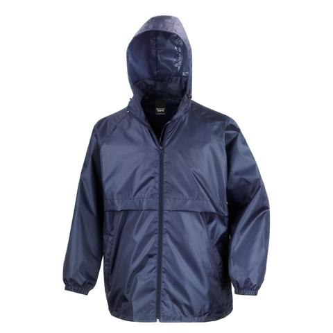 Image of Adults Core Lightweight Jacket - Colour Navy