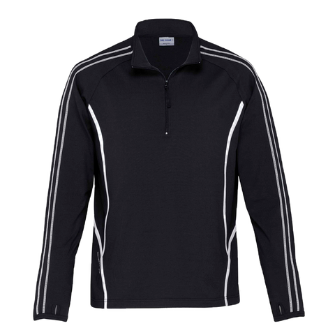 Image of Kids DRI GEAR Reflex Zip Pullover - Colours Black / White