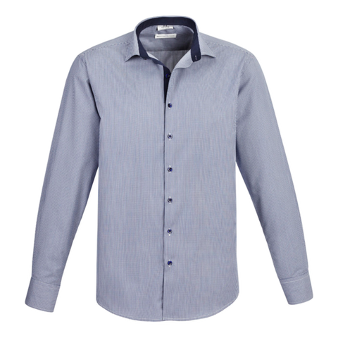 Mens Edge Shirt - Colour Blue