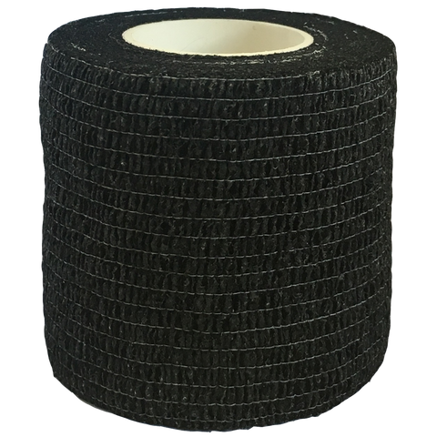 Elastic Cohesive Bandage (ECB), Size: 75mm x 45m, Colour: Black