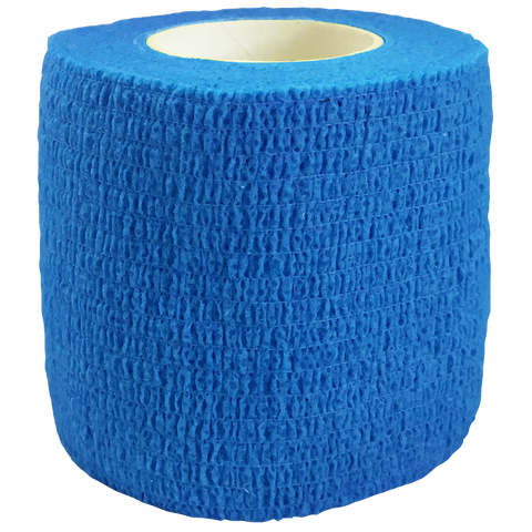 Elastic Cohesive Bandage (ECB), Size: 75mm x 45m, Colour: Blue